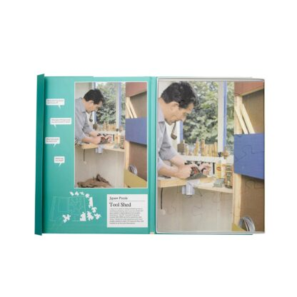 """Puzzle 13 Teile """"Tool Shed"""""""