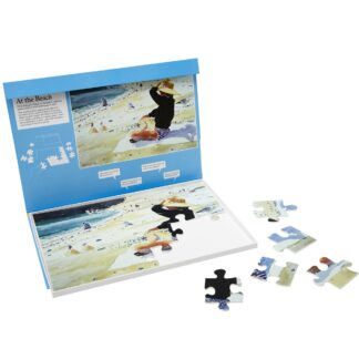 """Puzzle 24 Teile """"At the Beach"""""""