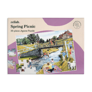 Puzzle Alzheimer Spring Picnic