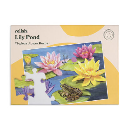Puzzle Alzheimer Lily Pond